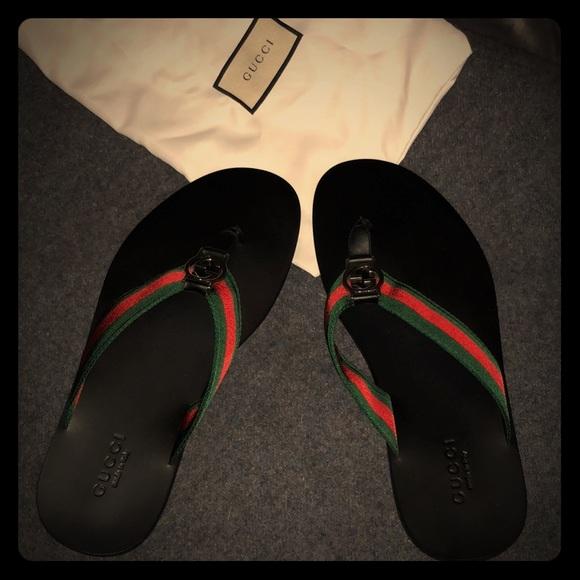 87c7c3043f6 Men s Gucci Sandals